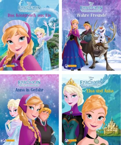 Carlsen Disney Frozen - Die Eiskönigin Nelson Mini-Bücher, sortiert