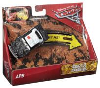 Mattel Cars 3 Crazy 8 Racer Singles, Cast-Fahrzeuge, sortiert (rollierend)