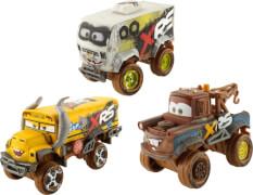 Mattel GBJ44 Cars XRS Schlammrennen Die-Cast Deluxe sortiert