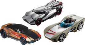 Mattel FYT17 Hot Wheels Star Wars Episode 9 Character Car sortiert