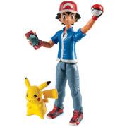 TOMY Ash und Pikachu Actionfigur
