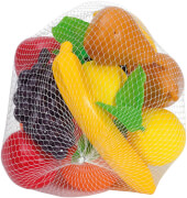 Früchte groß im Netz, ab 3 Jahren