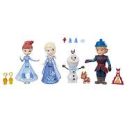 Hasbro C1921EU4 Disney Frozen - Die Eiskönigin Little Kingdom Olaf's Adventure Freunde-Set
