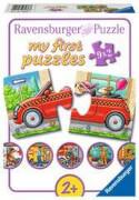 Ravensburger 07036 Puzzle Allerlei Fahrzeuge My First Puzzle 9x2 Teile