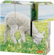 GoKi Würfelpuzzle Bauernhoftiere