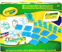 Crayola KreativSet Bauernhof Stempel
