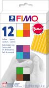 FIMO soft Basic Colours 12 Stück