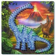 Ravensburger 180318 String it midi Dinosaurier, Fadenkunst