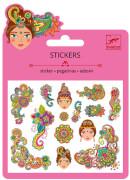 Mini Sticker: Indian designs