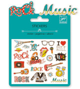 Mini Sticker: Pop and rock