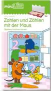 miniLÜK - Buch ''Zahlen und Zählen mit der Maus'', geheftet, 1. Schuljahr