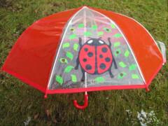 Regenschirm Marienkäfer ca. 58 cm