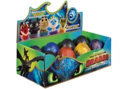 DreamWorks Dragons Überrasschung-Ei mit Drachen-Plüschfigur